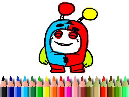 Play BTS OddBods Coloring Book Game