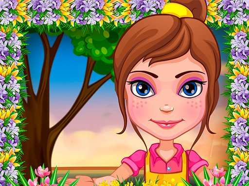 Play Garden Decoration Flower Decoration Game