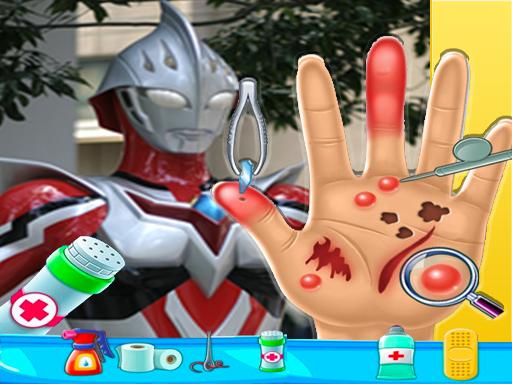 Play Ultraman Hand Doctor Game