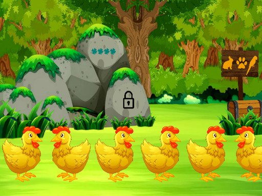 Play Golden Hen Rescue Game
