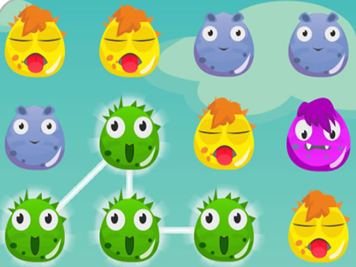 Play Monster World Matching Game