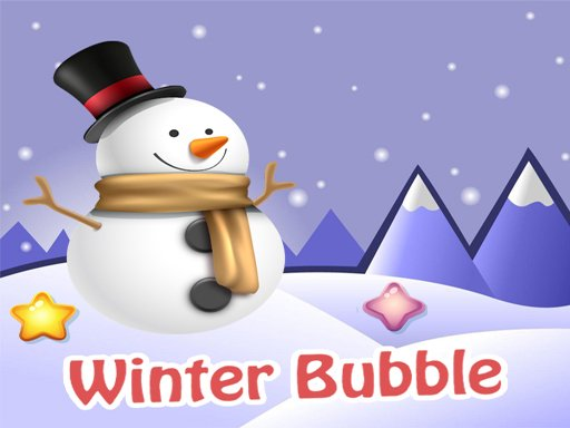Play Winter Bubble Game
