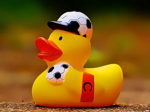 Play Yellow Ducks Puzzle Game