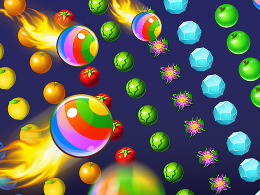 Play Fruit Pop Bubbles Game