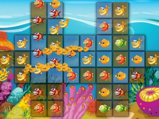 Play Fish Connect Deluxe Game
