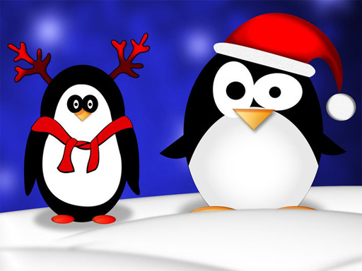 Play Christmas Penguin Puzzle Game