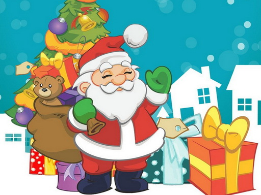 Play Santa Claus New Year's Eve Game