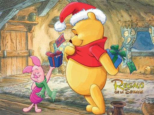 Play Winnie the Pooh Christmas Jigsaw Puzzle Game