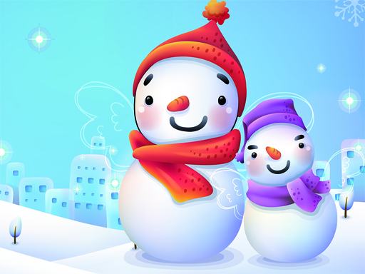 Play Snowman 2020 Puzzle Game