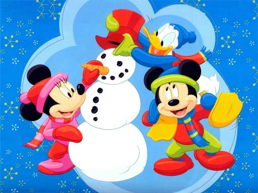 Play Disney Christmas Jigsaw Puzzle 2 Game