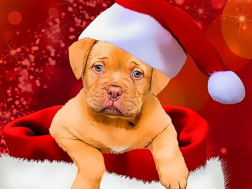 Play Christmas Dogs Styles Game