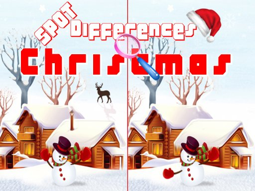 Play Christmas 2020 Spot Differences Game
