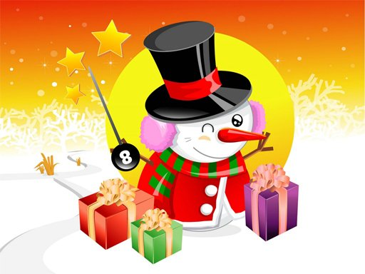 Play Christmas Vector Characters Puzzle Game