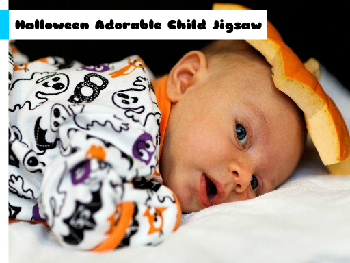 Play Halloween Adorable Child Jigsaw Game