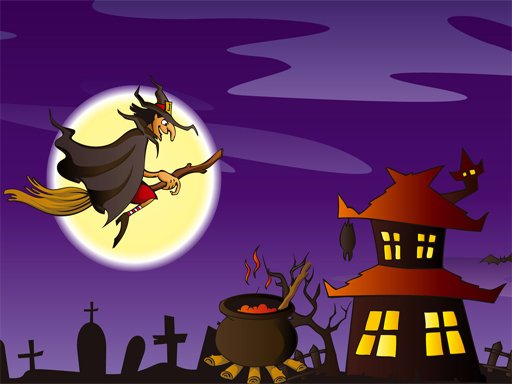 Play Halloween Illustrations Jigsaw Puzzle Game