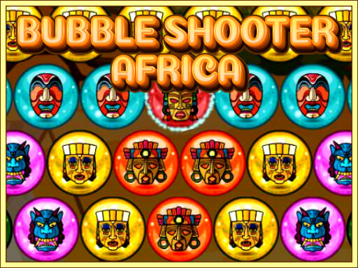 Play Bubble Shooter Africa Game