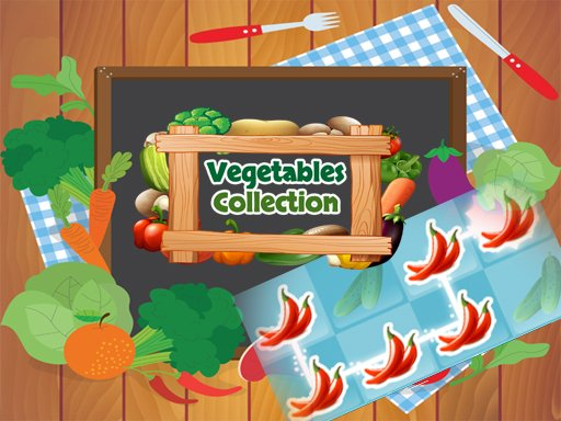 Play Vegetables Collection Game