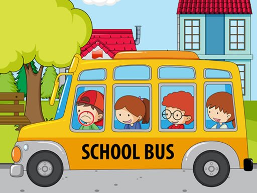 Play School Bus Differences Game