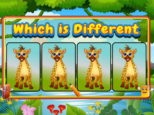Play Which Is Different Animal Game