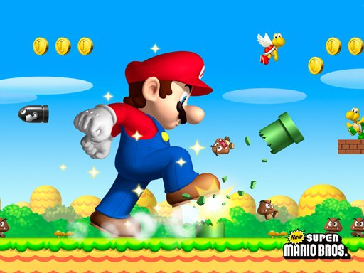 Play Super Mario Jigsaw Puzzle Game