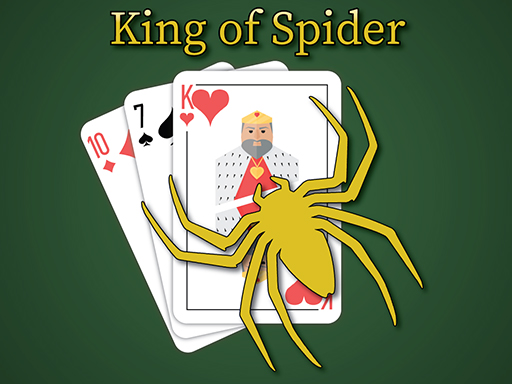 Play King of Spider Solitaire Game