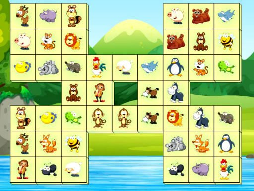 Play Animals Connect Game