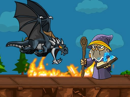 Play Dragon vs Mage Game