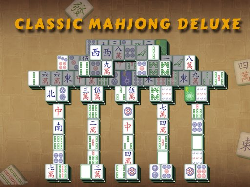 Play Classic Mahjong Deluxe Game