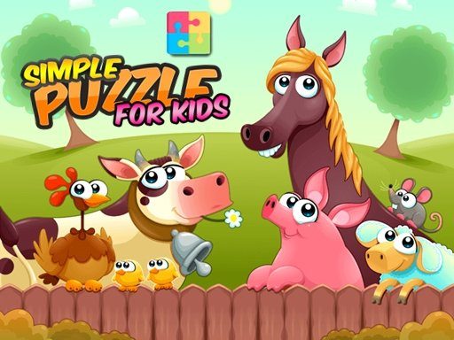 Play Simple Puzzle For Kids Game