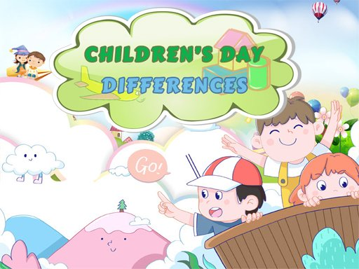 Play Children's Day Differences Game