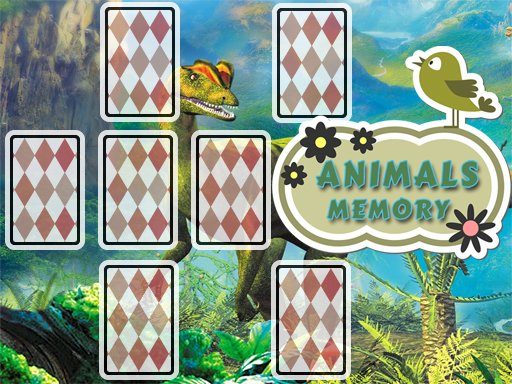 Play Animals Cards Memory Game