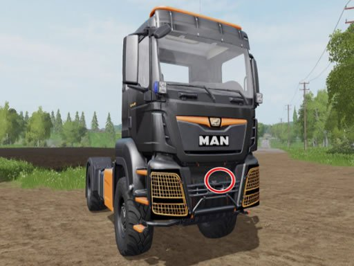 Play Man Trucks Differences Game