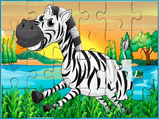 Play Happy Animals Jigsaw Puzzle Game