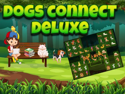 Play Dogs Connect Deluxe Game