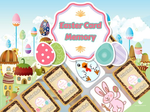 Play Easter Card Memory Deluxe Game