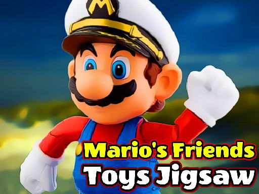 Play Mario's Friends Toys Jigsaw Game