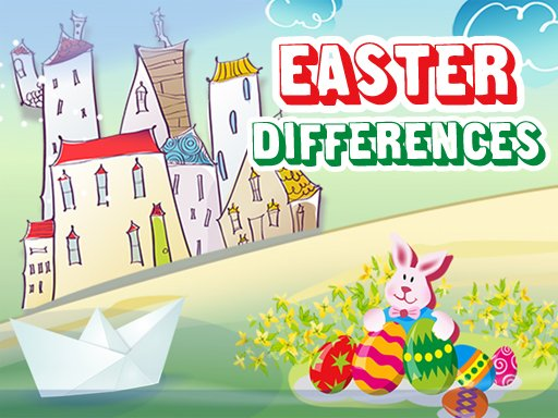Play Easter 2020 Differences Game