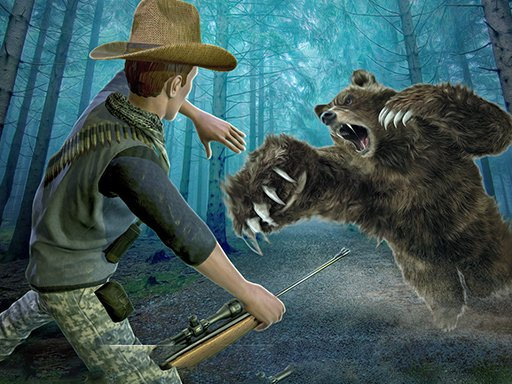 Play Wild Bear Hunting Sniper Shooting Game