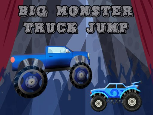 Play Big Monster Truck Jump Game