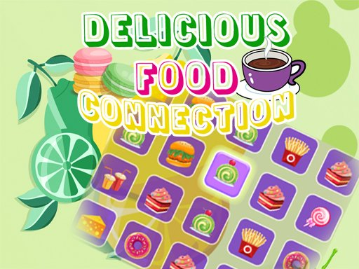 Play Delicious Food Connection Game