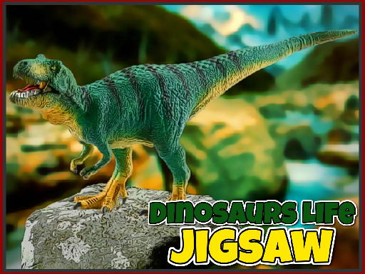Play Dinosaurs Life Jigsaw Game