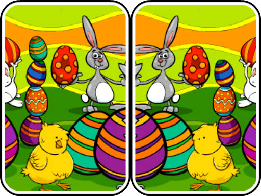 Play Easter Differences Game