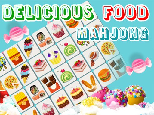 Play Delicious Food Mahjong Connects Game