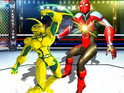 Play Robot Ring Fighting Wrestling Game
