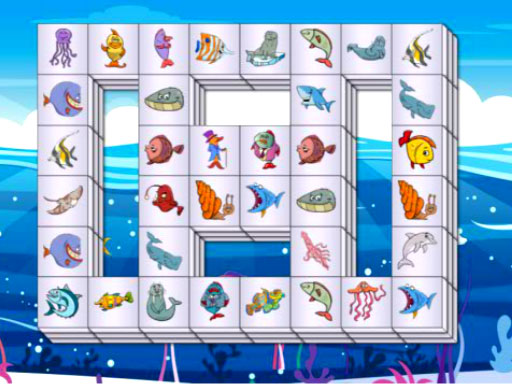 Play Sea Life Mahjong Game