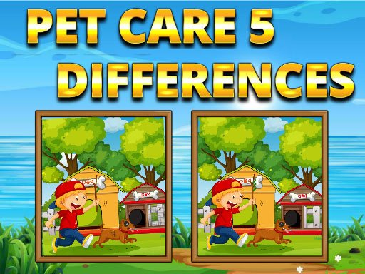 Play Pet Care 5 Differences Game