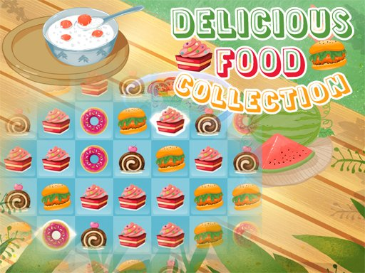 Play Delicious Food Collection Game