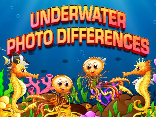 Play Underwater Photo Differences Game