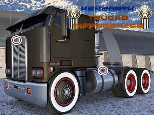 Play Kenworth Trucks Differences Game