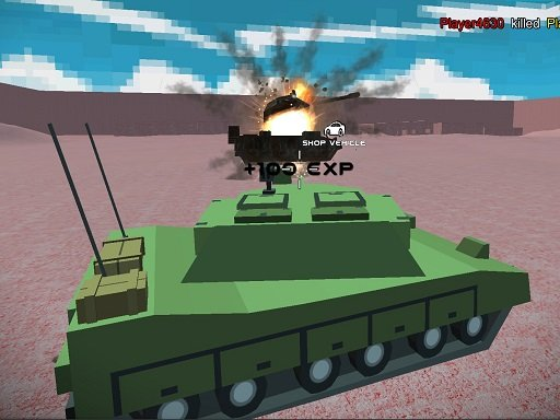 Play Helicopter And Tank Battle Desert Storm Multiplaye Game